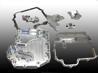 DME ZX-10 Billet Oil Pan Set 2011 up