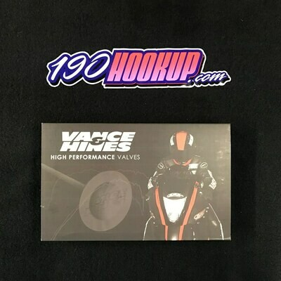 Vance & Hines 25.5mm Titanium Exhaust Valves 2016 ZX10