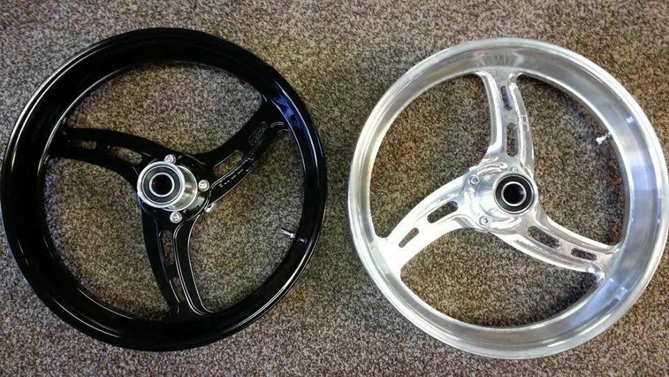 RBM Billet Lightweight 16in. Grudge Hayabusa Front Wheel
