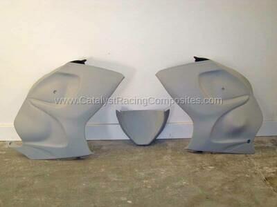 Catalyst Suzuki Hayabusa 08-19 Stock Pro Street Sides