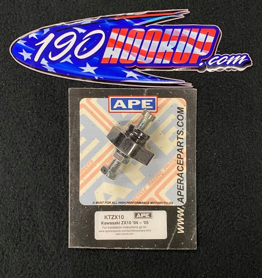 APE Manual Cam Chain Tensioner Kawasaki ZX10 (04-05)