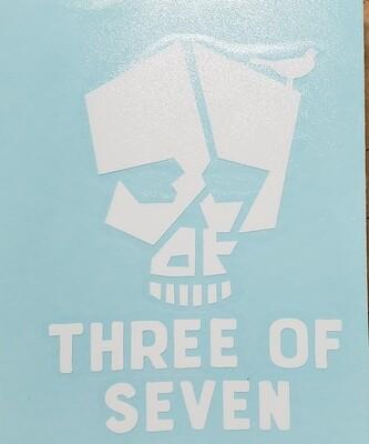 3 of 7 Sticker