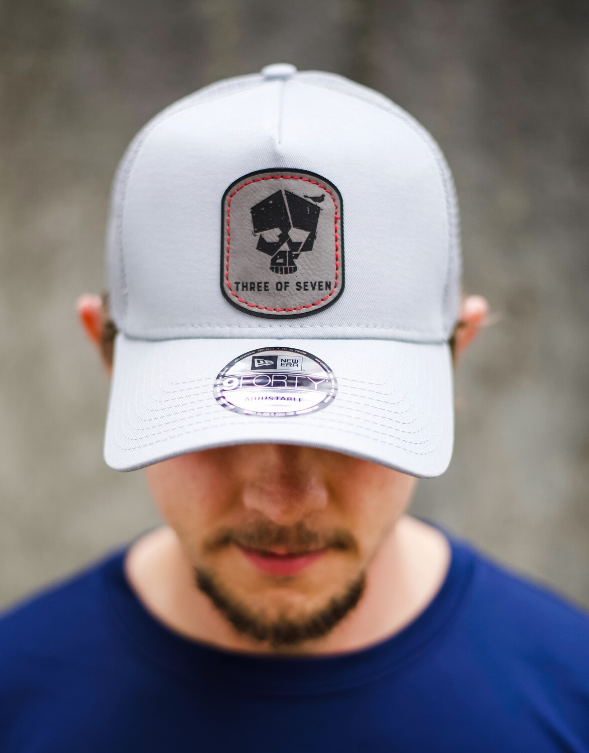 3 of 7 Logo High Top Trucker Patch Hat
