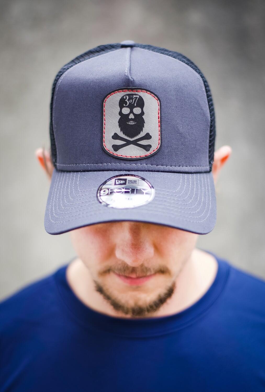 Beardskull High Top Trucker Patch Hat
