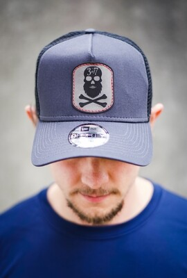 Beardskull High Top Trucker Patch Hat