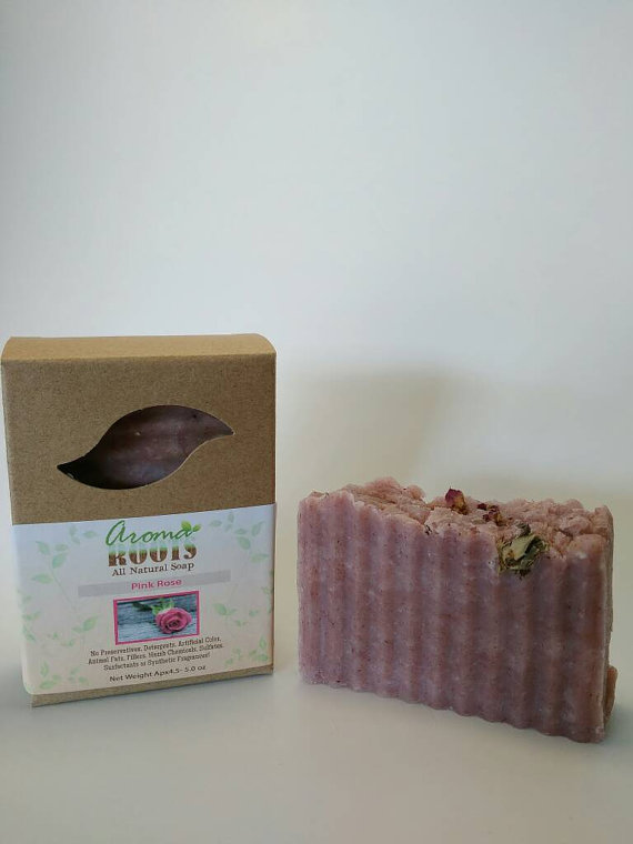 Pink Rose Soap 702380901341