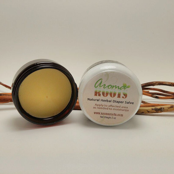 Natural Herbal Baby Diaper Salve 00223