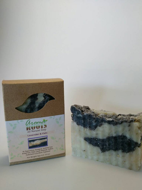 Lavender & Oats Soap 609224817151