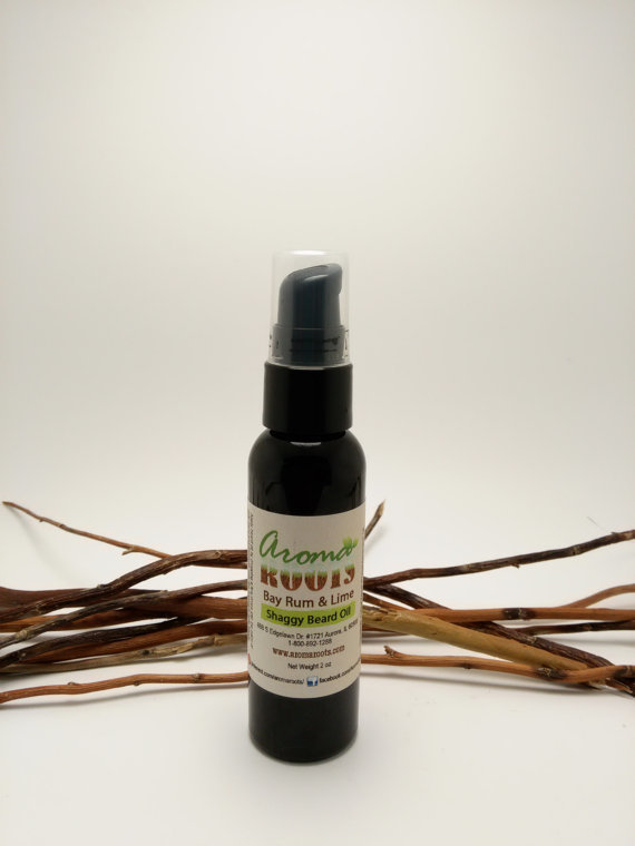 Shaggy Beard Oil Bay Rum & Lime 702380901280