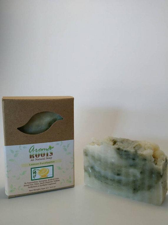 Lemon Eucalyptus Soap 609224817199