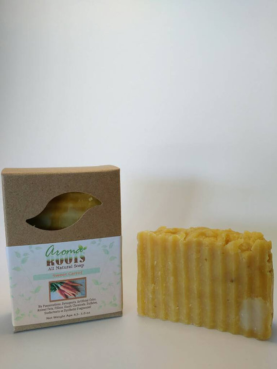 Sweet Carrot Soap 609224817182