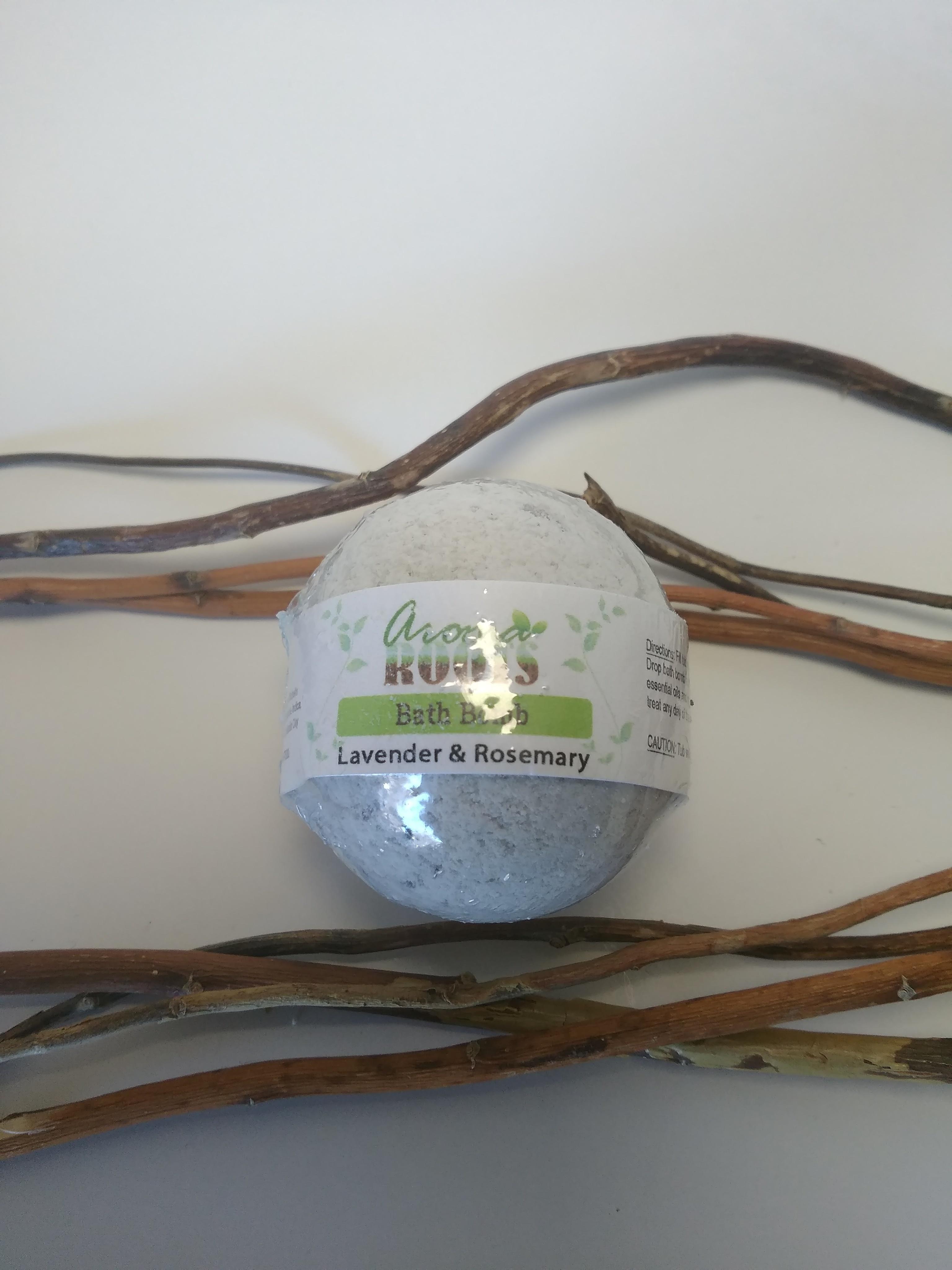 Lavender Rosemary Bath Bomb 0703546605189