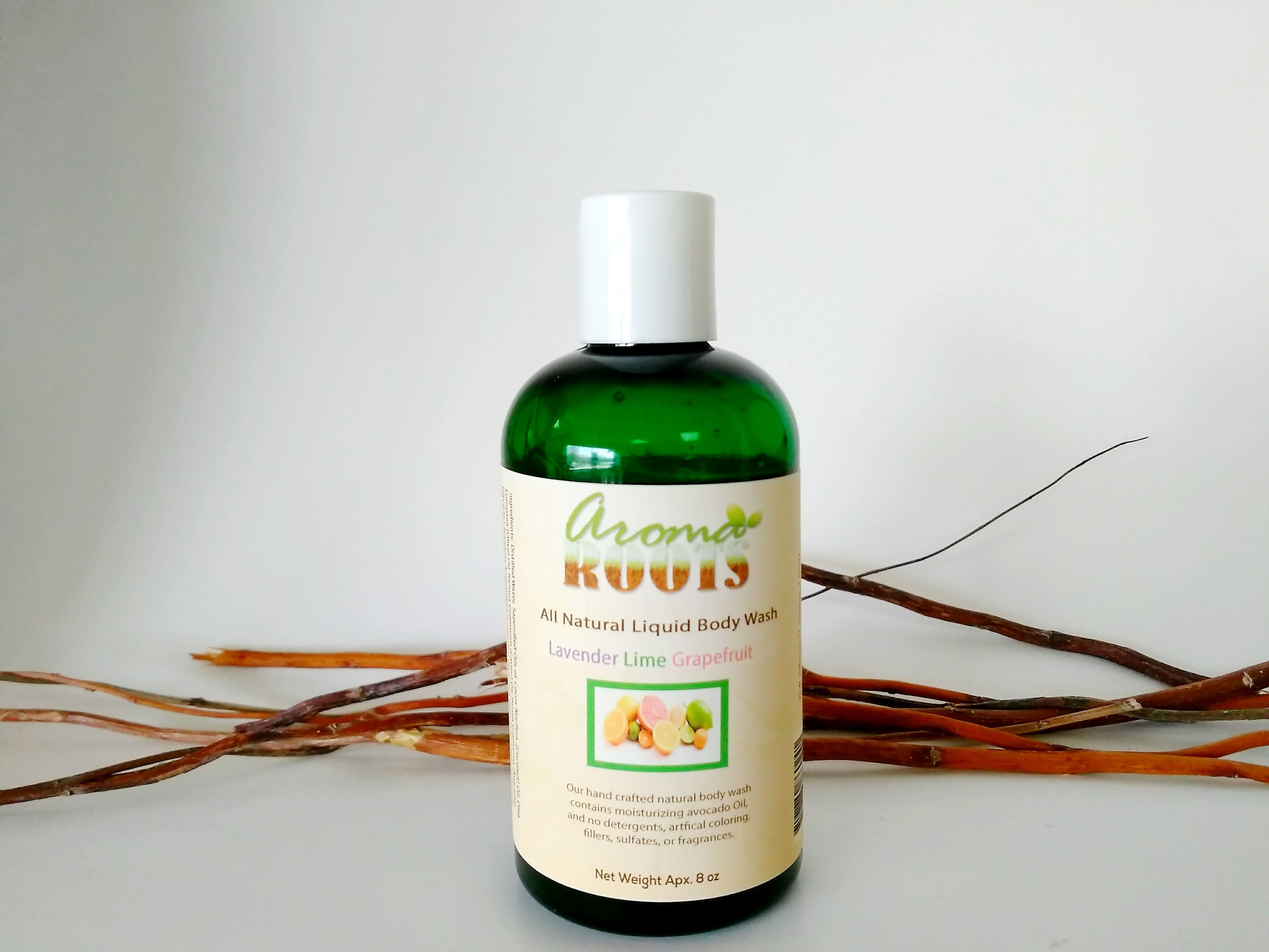 Lavender, Lime, Grapefruit Body Wash 717880860241