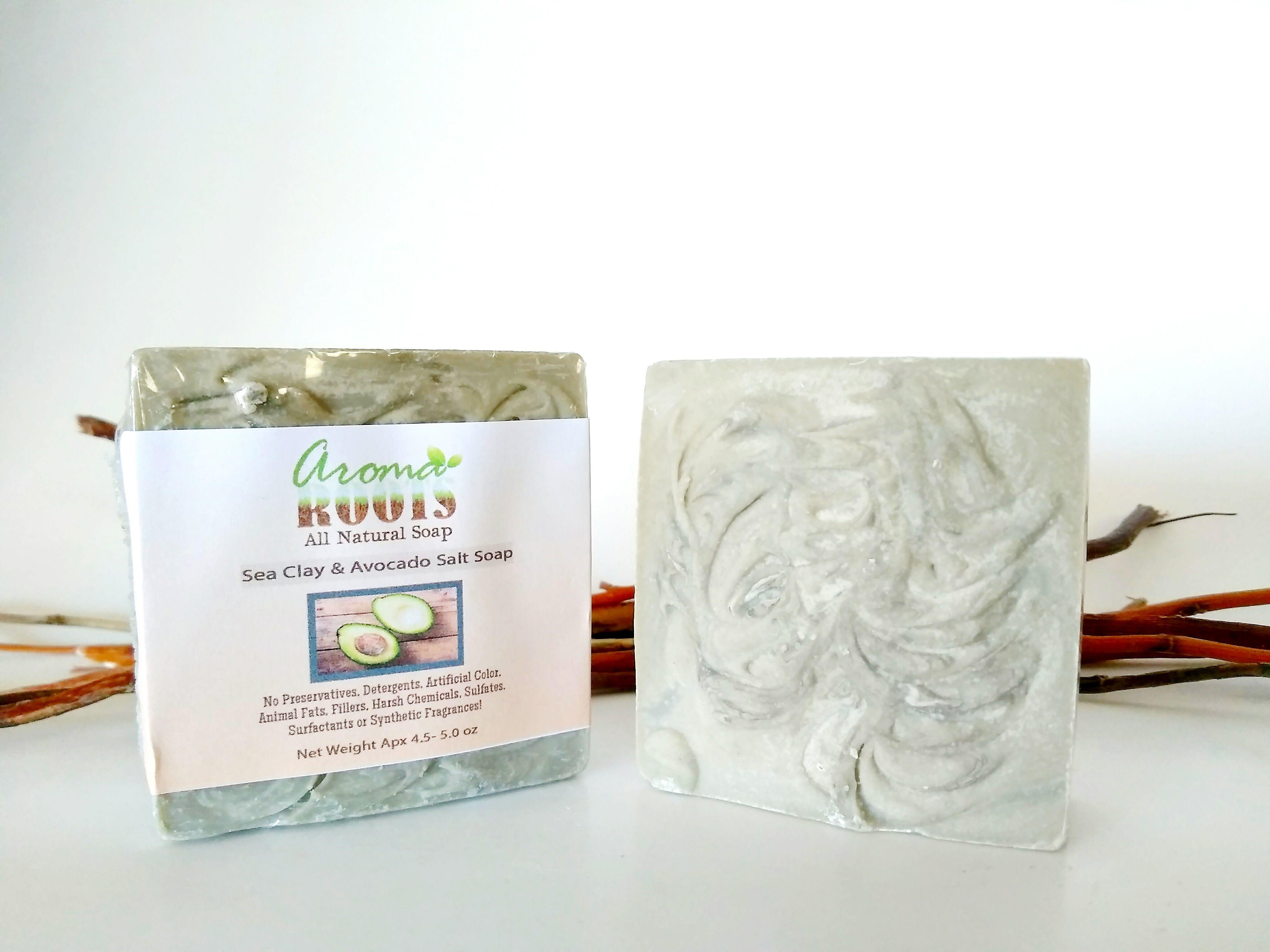 Sea Clay & Avocado Salt Bar 717880860340