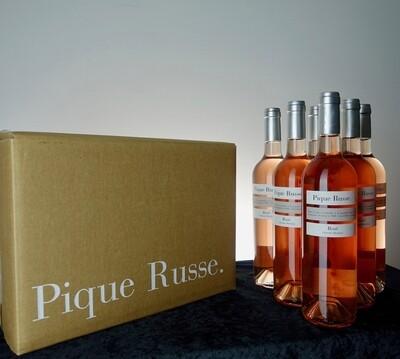 Rosé - Carton de 6 bouteilles de 75cl