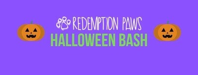 Admit 1 Halloween Puppy Dress Up Party by Redemption Paws!