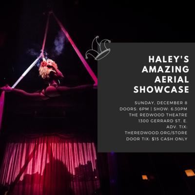 Haley's Amazing Aerial Showcase