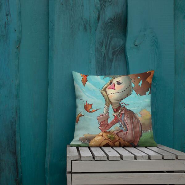 SCARECROW Premium Pillow