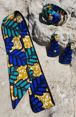 African Print Head Bands