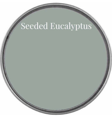 Limited Edition!  Seeded Eucalyptus Chalk Synthesis Paint: Pint