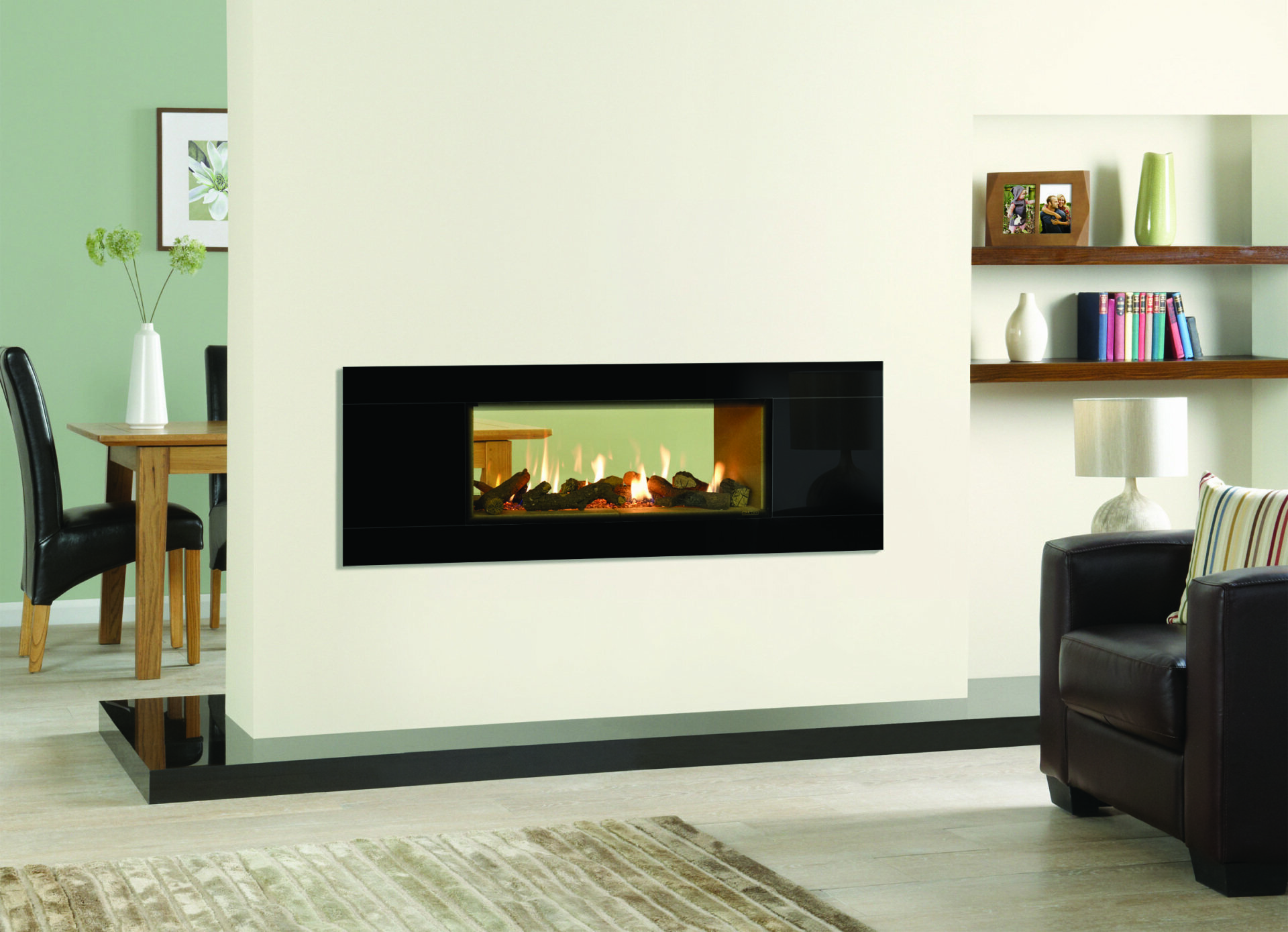 Studio Inset Glass Fronted Range - Gas