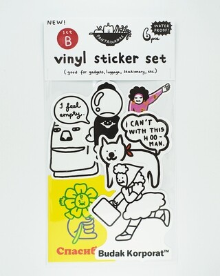 Vinyl Sticker Set B (6pcs)