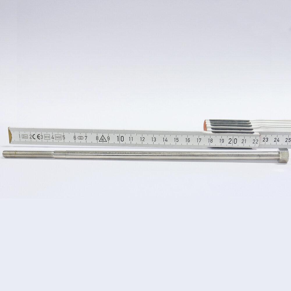 "Klemmschraube d6.5mmx24G/"" x 234/45mm Stahl vernickelt"