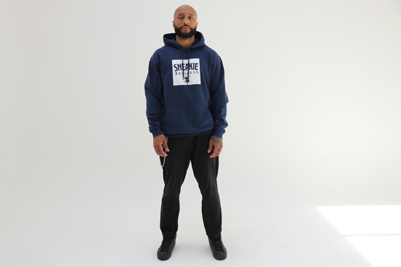 'Box Logo' hoodie