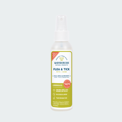 Wondercide Flea & Tick Spray - Lemongrass