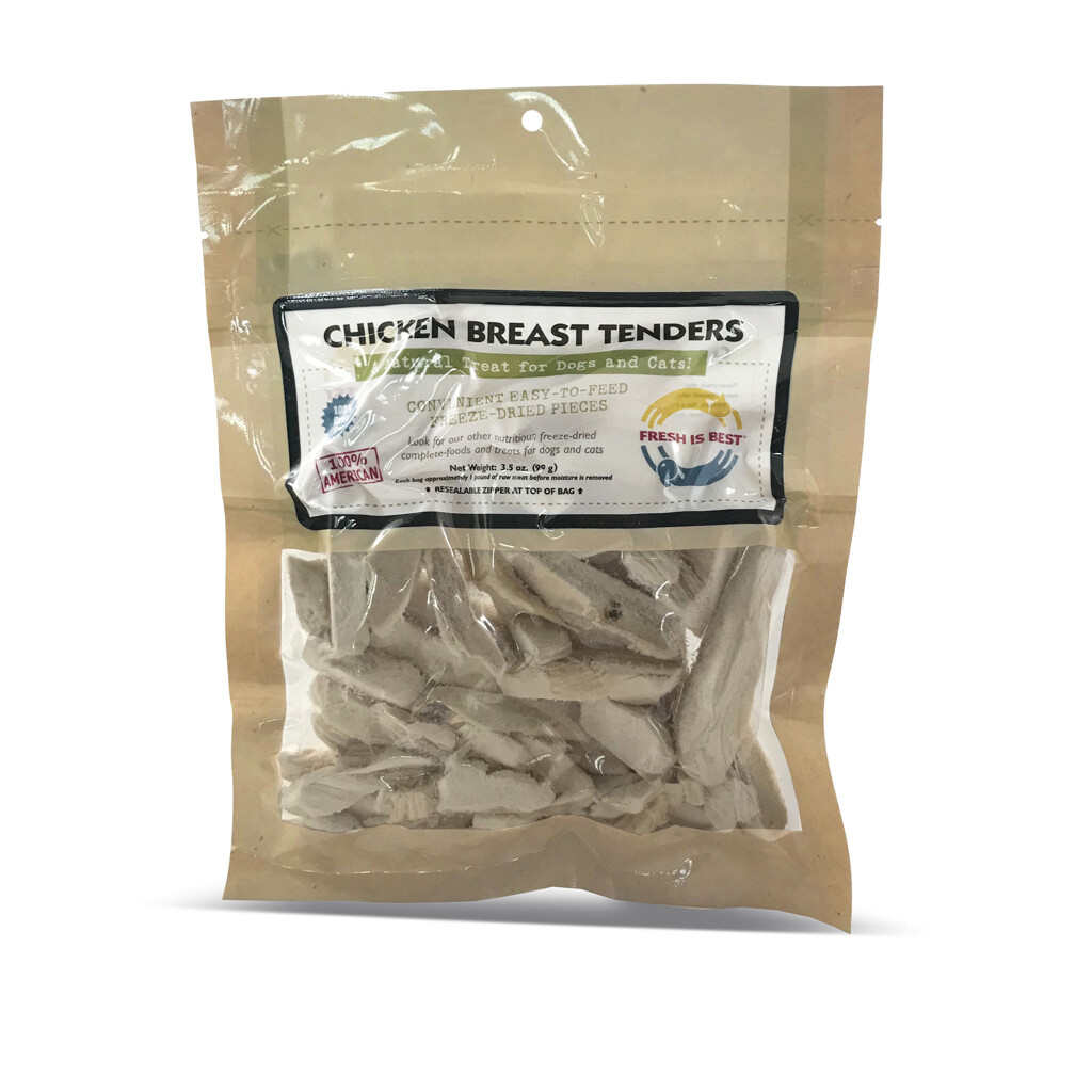 Freeze-Dried Chicken Breast Tenders