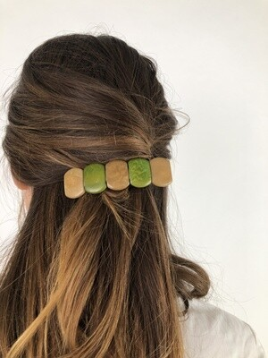 Vintage 80's Hair Barrette Hair Clips
