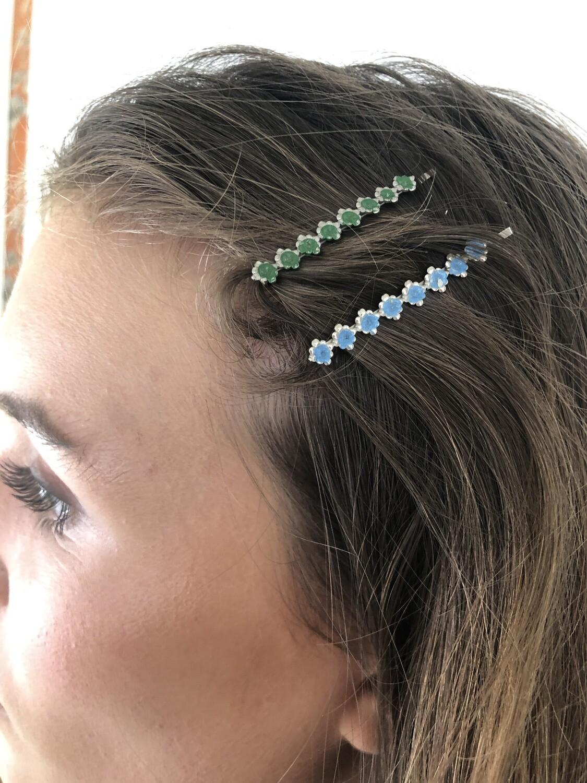 Vintage 60's Mini Hair Barrettes Hair Clip
