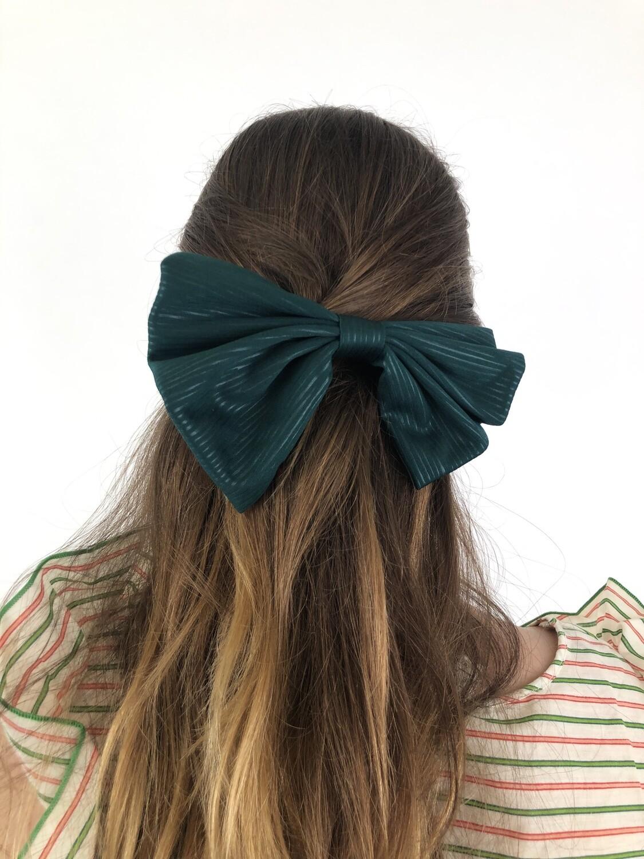 Vintage French Hair Barrette Bow Hair Clip
