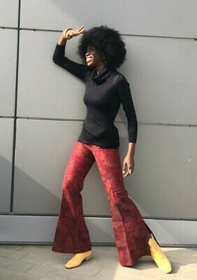 Vintage 70'ss Tapered Flared Trousers