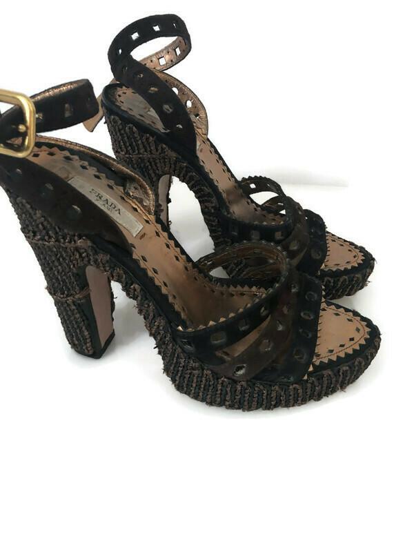 Prada Ankle Strap Shoes