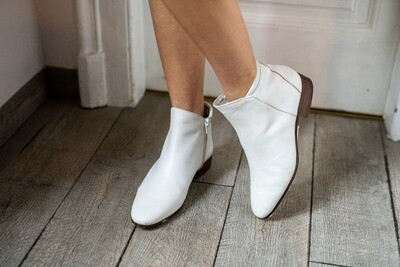 Vintage Tanino Crisci Leather Flat Boots