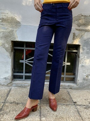 Vintage 1960s Workwear Slim Trousers Dead Stock