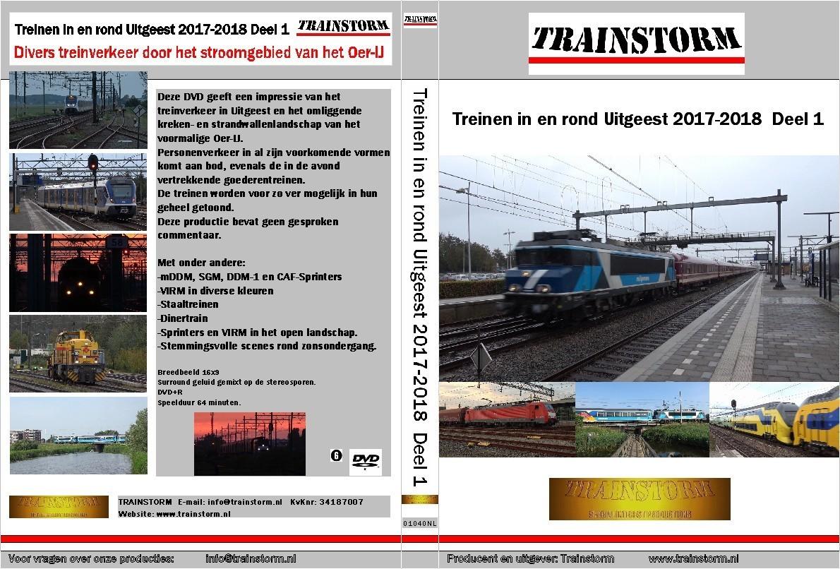 Treinverkeer in en rond Uitgeest 2017-2018