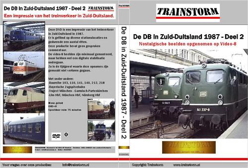 De DB in zuid-Duitsland 1987 deel 2