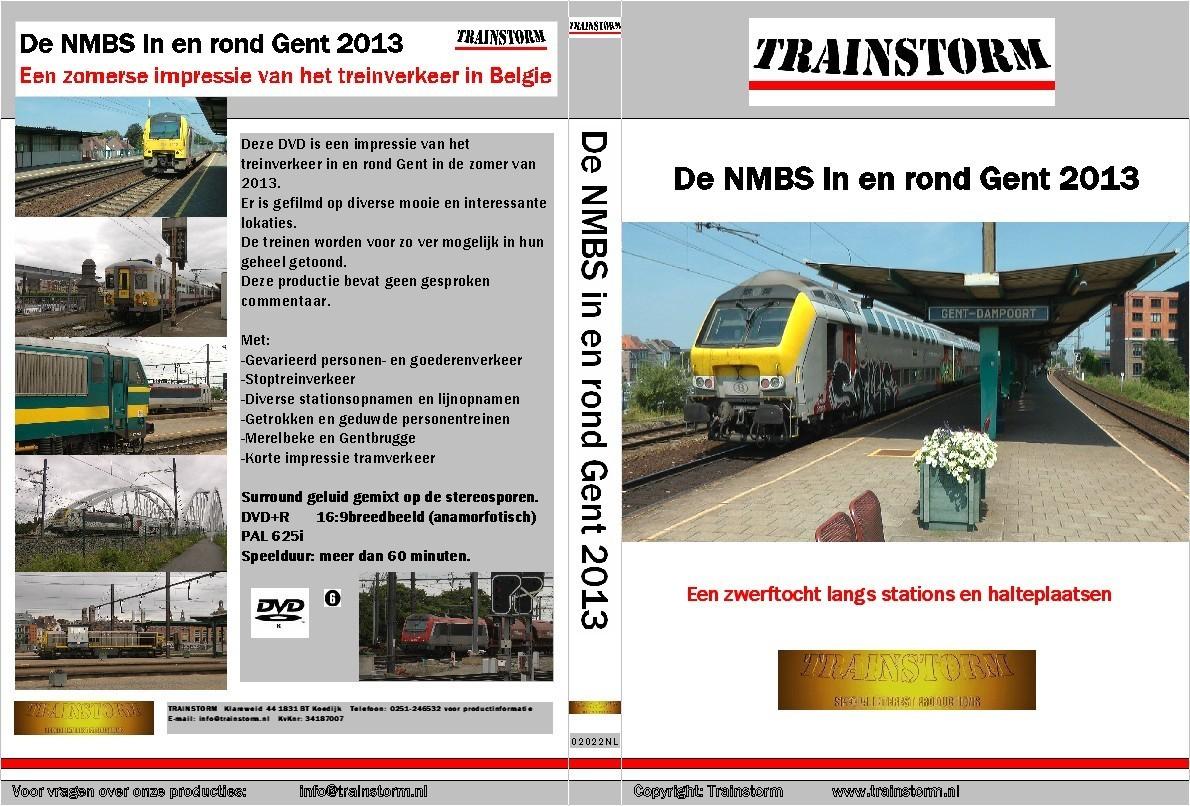 De NMBS in Gent 2013