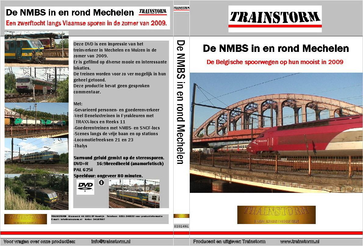 De NMBS in en rond Mechelen 2009