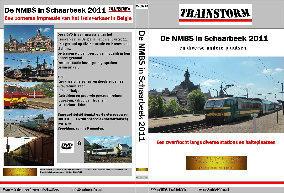 De NMBS in Schaarbeek 2011