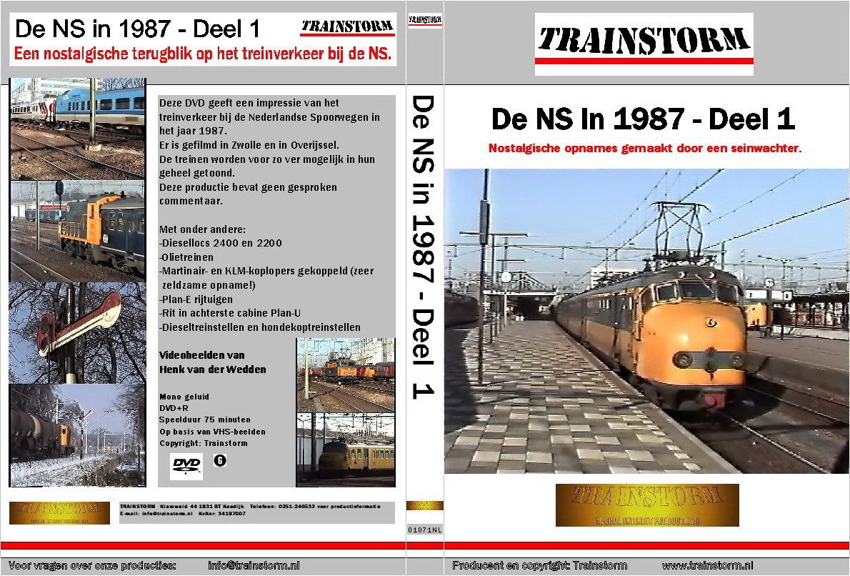 De NS in 1987 deel 1