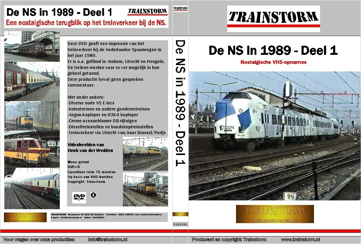 De NS in 1989 deel 1