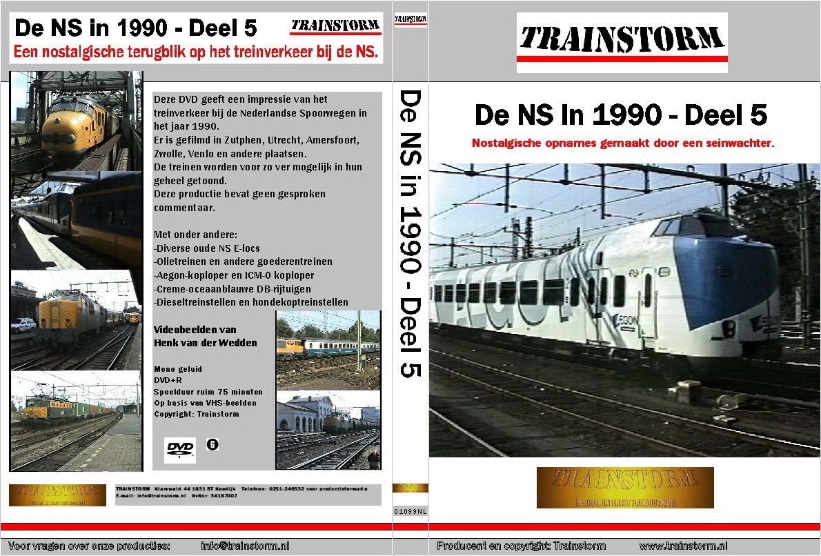 De NS in 1990 deel 5