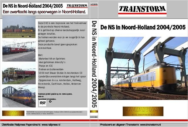 De NS in Noord-Holland 2004