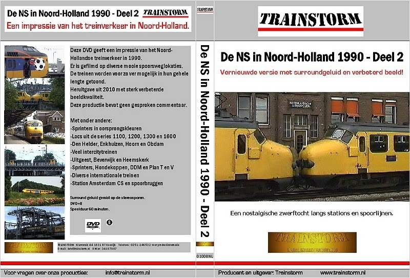 De NS in Noord-Holland 1990 deel 2