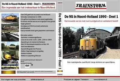 De NS in Noord-Holland 1990 deel 1