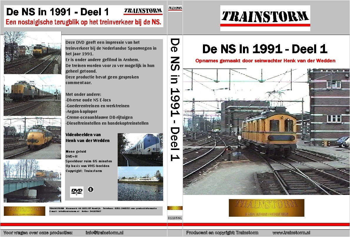 De NS in 1991 deel 1
