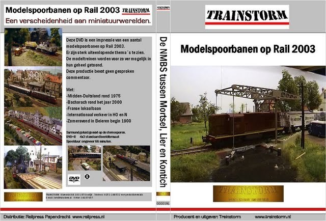 Modelspoorbanen op RAIL 2003